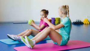 Gyerek fitness, gyerek személyi edzés
